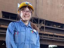 世界に3つしかない稀有な転炉を守っていく -JFEスチール 東日本製鉄所 中村春香さん【後編】