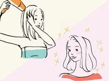 乾かし方で髪質に差が出る! 正しい「ドライ&ブロー術」