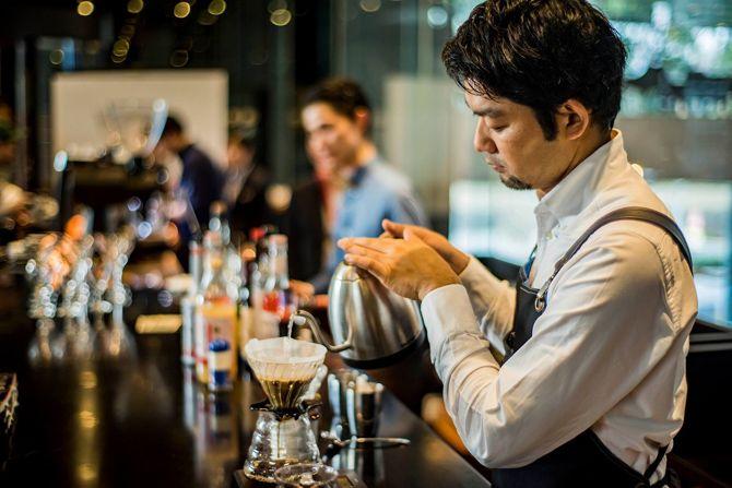 """プロも驚く""""1杯7500円のコーヒー""""の味"""