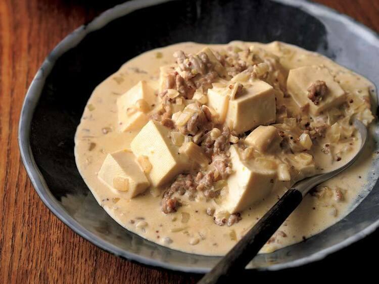 生クリーム入りでクリーミー! 洋風テイストの「白マーボー」のレシピ