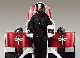ジェットパック -実現近い「空飛ぶバイク」